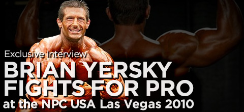 interview with ifbb pro bodybuilder brian yersky