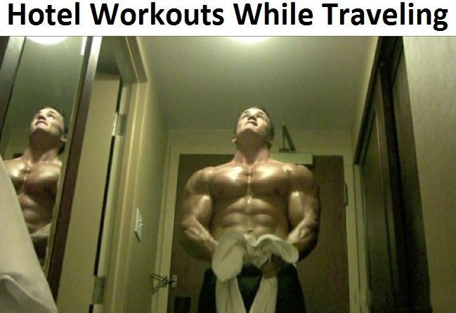 hotel workouts while traveling