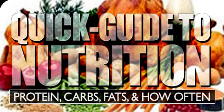 quick guide to nutrition