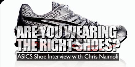 interview with chris naimoli from ASICS