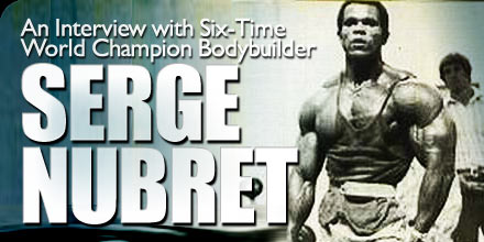interview with serge nubret