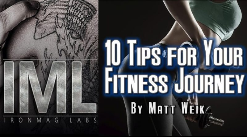 10 Tips for Your Fitness Journey