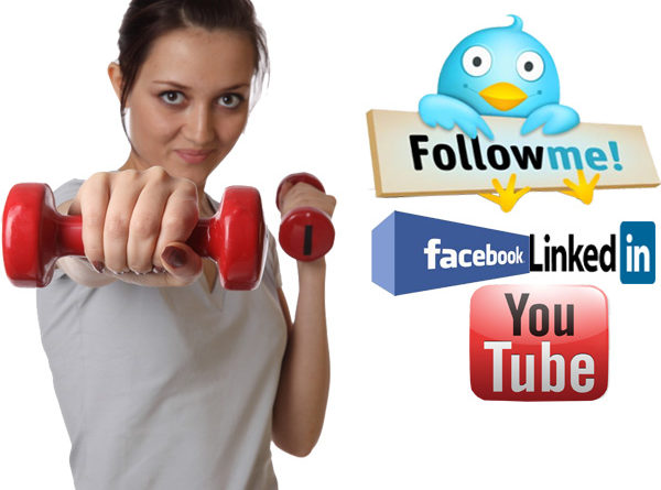 social media and fitness