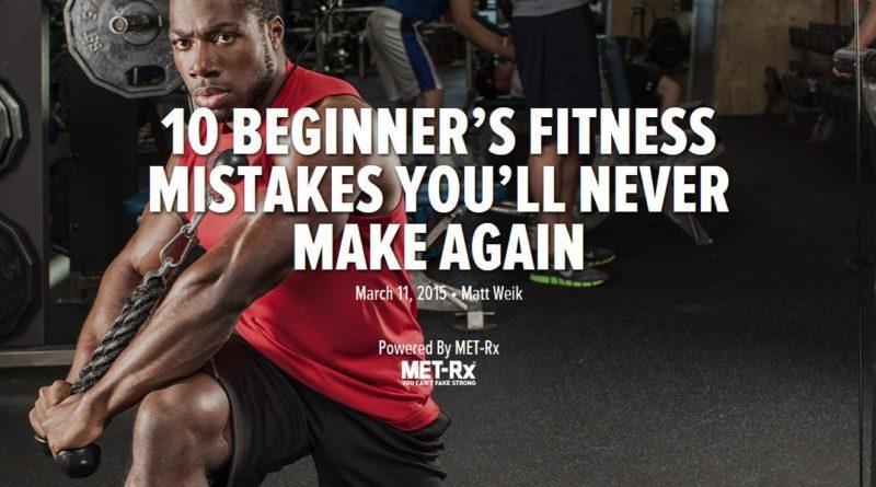 Beginner Fitness Mistakes