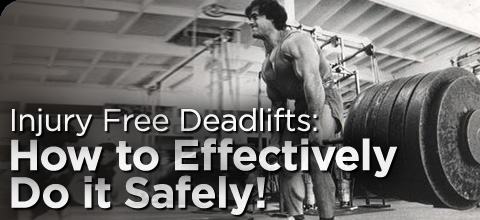 injury free deadlifts