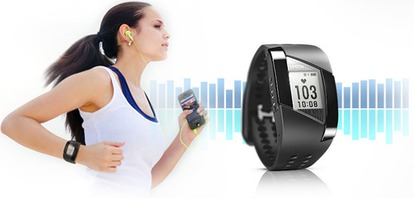 fitness monitor and wrist bands