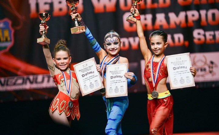 kids competing