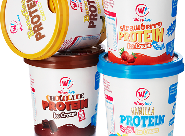 wheyhey high-protein ice cream