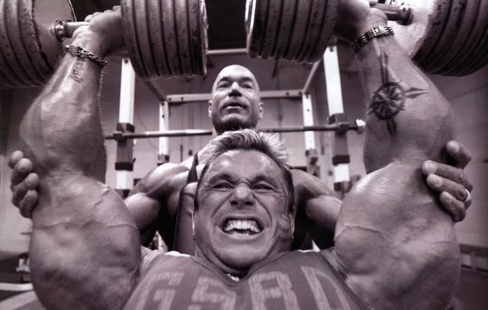 bodybuilders from different generations