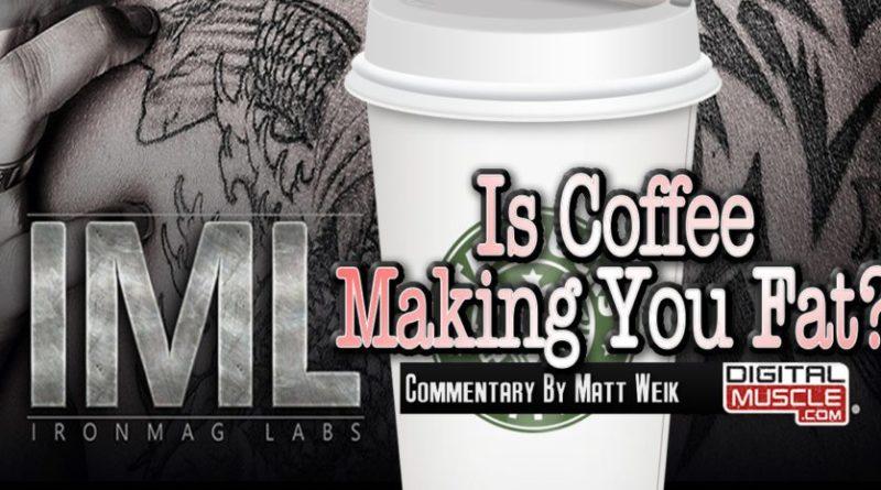 coffee making you fat