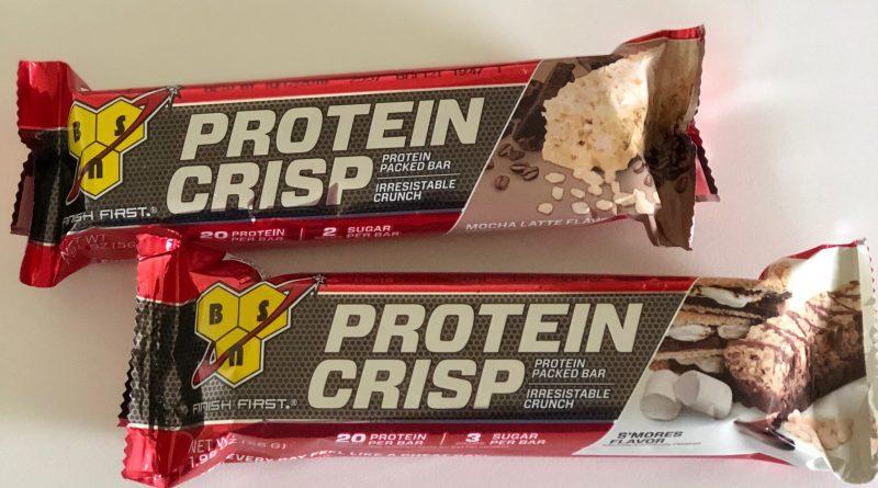 bsn protein crisp bar review